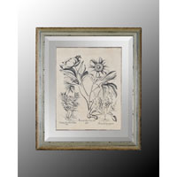 John Richard Botanical/Floral Wall Decor Open Edition Art in Crackle GRF-4488D