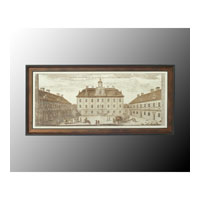 John Richard Architectural Wall Decor Open Edition Art in Aged Copper GRF-4517A