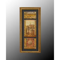 John Richard Enchantment Wall Decor Open Edition Art in Gold and Black GRF-4535A