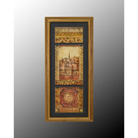 John Richard Enchantment Wall Decor Open Edition Art in Gold and Black GRF-4535B