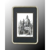 John Richard Architectural Wall Art - Print in Wood  GRF-4543A
