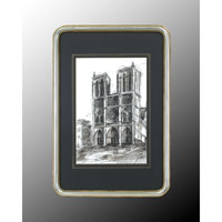 John Richard Architectural Wall Art - Print in Wood  GRF-4543B