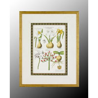 John Richard Botanical/Floral Wall Decor Open Edition Art in Wood GRF-4559A