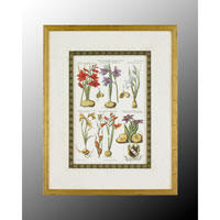 John Richard Botanical/Floral Wall Decor Open Edition Art in Wood GRF-4559B