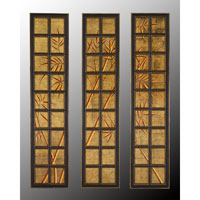 John Richard Panels Set of 3 Wall Decor 3D Art in Wood GRF-4636S3