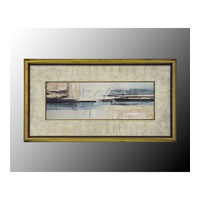 John Richard Coastal Wall Art - Print in Gold Bevel  GRF-4771A