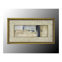 John Richard Coastal Wall Art - Print in Gold Bevel  GRF-4771B