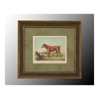 John Richard Animals Wall Decor Open Edition Art in Brown and Green GRF-4781B