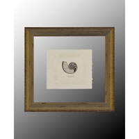 John Richard Coastal Wall Decor Open Edition Art in Antique Silver GRF-4810B photo thumbnail