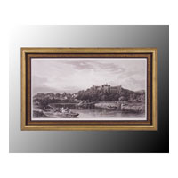 John Richard Coastal Wall Art - Print in Black and Gold  GRF-4823A