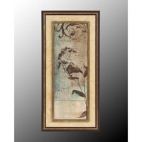 John Richard Botanical/Floral Wall Decor Open Edition Art in Dark Champagne GRF-4943B