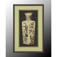 John Richard Architectural Wall Decor Open Edition Art in Dark Wood GRF-4947B