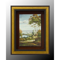 John Richard Landscape Wall Art - Print in Wood  GRF-4951A