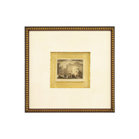 John Richard Landscape Wall Decor Open Edition Art in Dark Wood GRF-4994A