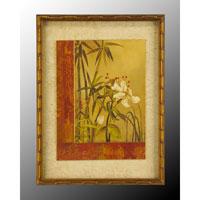 John Richard Botanical/Floral Wall Decor Open Edition Art in Gold Bevel GRF-5014A