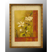 John Richard Botanical/Floral Wall Decor Open Edition Art in Gold Bevel GRF-5014B