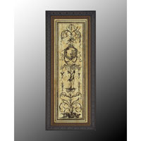 John Richard Architectural Wall Art - Print in Dark Wood  GRF-5023A