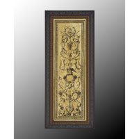John Richard Architectural Wall Art - Print in Dark Wood  GRF-5023B