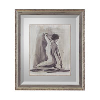 John Richard Figurative Wall Decor Open Edition Art in Aged Silver GRF-5247A