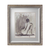 John Richard Figurative Wall Decor Open Edition Art in Aged Silver GRF-5247B
