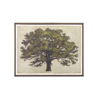 John Richard Botanical/Floral Wall Decor Open Edition Art in Distressed Coffee Bean GRF-5265