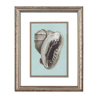 John Richard Coastal Wall Decor Open Edition Art in Soft Silver GRF-5267A