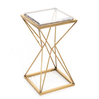 Geometric Martini Table Home Decor