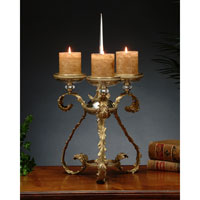 John Richard Accessories Candleholder in Brass  JRA-5559