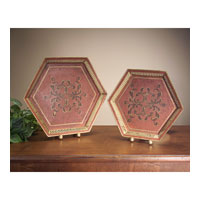 John Richard Tray Set of 2 Decorative Accessory JRA-6065