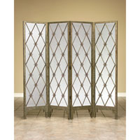 John Richard Folding Screen Decorative Accessory in Gold JRA-6450