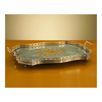 John Richard Tray Decorative Accessory in Brass JRA-6672