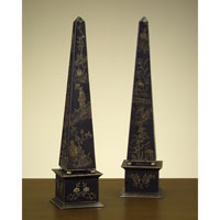 John Richard Obelisk Set of 2 Decorative Accessory JRA-6883