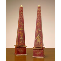 John Richard Obelisk Set of 2 Decorative Accessory JRA-7005