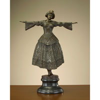 John Richard Accessories Sculpture in Bronze  JRA-7094