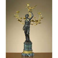John Richard Candleholders Decorative Accessory in Bronze JRA-7100LEFT