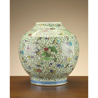 John Richard Jars Decorative Accessory in Floral JRA-7484