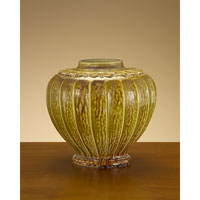 John Richard Urns Decorative Accessory in Mustard Glaze JRA-7749