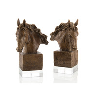 John Richard Sculpture Set of 2 Decorative Accessory JRA-7886S2