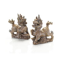 John Richard Sculpture Set of 2 Decorative Accessory JRA-8479S2