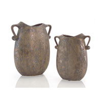 John Richard Vases Set of 2 Decorative Accessory in Bronze JRA-8530S2