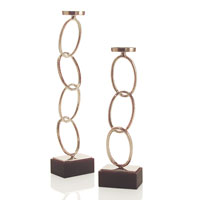 John Richard Candleholders Set of 2 Decorative Accessory JRA-8860S2