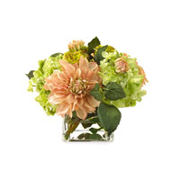 John Richard Fresh Water Look Botanical in Greens JRB-2277W
