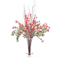 John Richard Fresh Water Look Botanical in Reds JRB-2622W