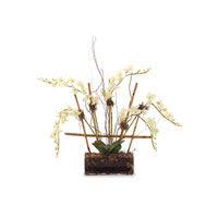 John Richard Fresh Water Look Botanical in Whites JRB-2661W