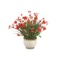 John Richard Florals Botanical in Reds JRB-2766