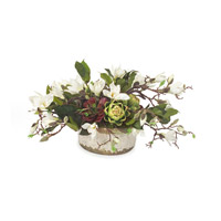 John Richard Florals Botanical in Whites JRB-2769