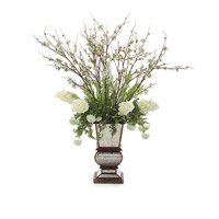 John Richard Florals Botanical in Whites JRB-2774