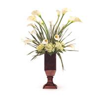 John Richard Florals Botanical in Whites JRB-2794