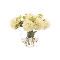 John Richard Fresh Water Look Botanical in Whites JRB-2800W