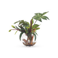 John Richard Fresh Water Look Botanical in Greens JRB-2812W